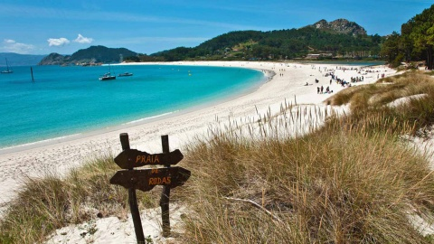 Playa Rodas, Cies Islands