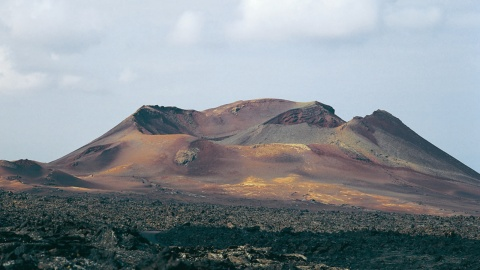 Landscape of the Timanfaya National Park