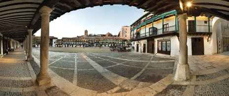 Plaza de Chinchón, région de Madrid