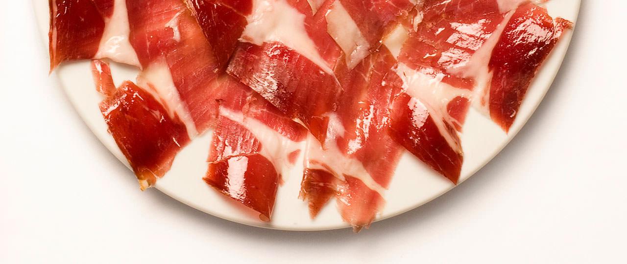 Iberian cured ham