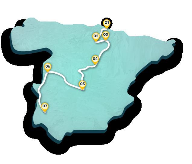 Cartina Tematica Spagna.Visita Le Citta Medievali Della Spagna Turismo In Spagna Spain Info In Italiano