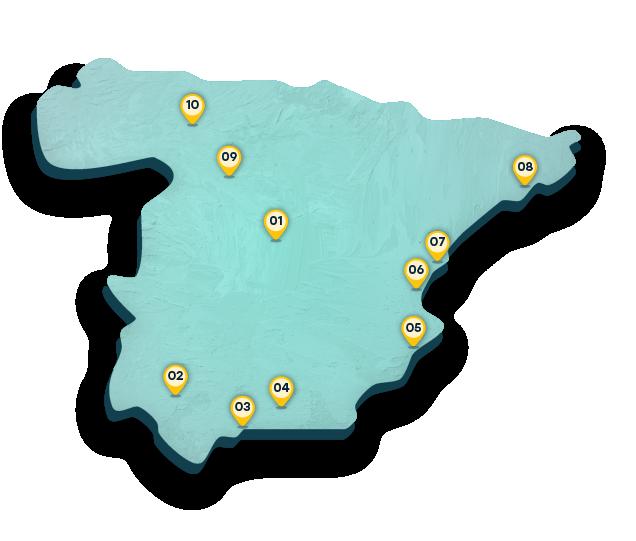 Mappa Spagna Orientale.Viaggia In Spagna A Bordo Dei Treni Ad Alta Velocita Spain Info In Italiano